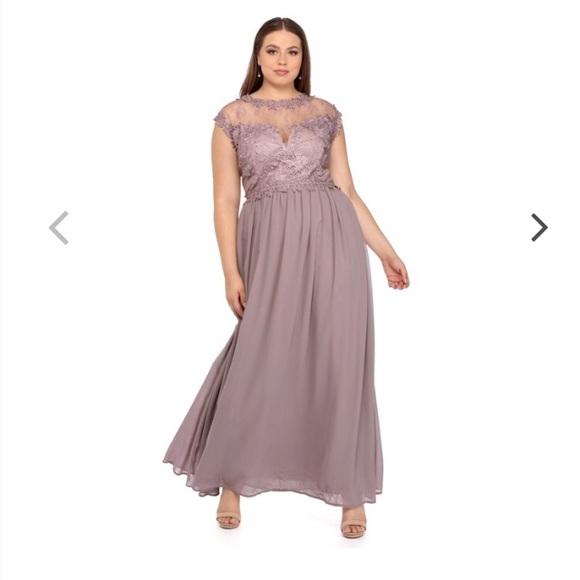 Lavender Crochet Dress